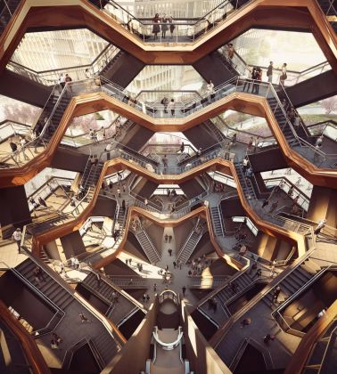 Interno di Vessel - courtesy of Forbes Massie-Heatherwick Studio