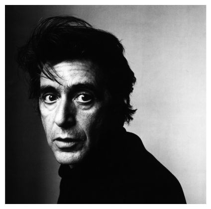 Irving Penn, Al Pacino, 1995