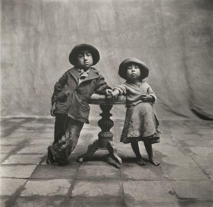 Irving Penn, cuzco children