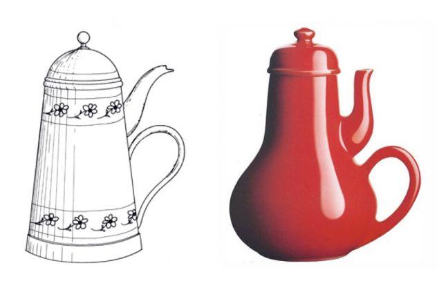Jacques Carelman, La caffettiera del masochista, dal Catalogue d'Objets Introuvables, 1969