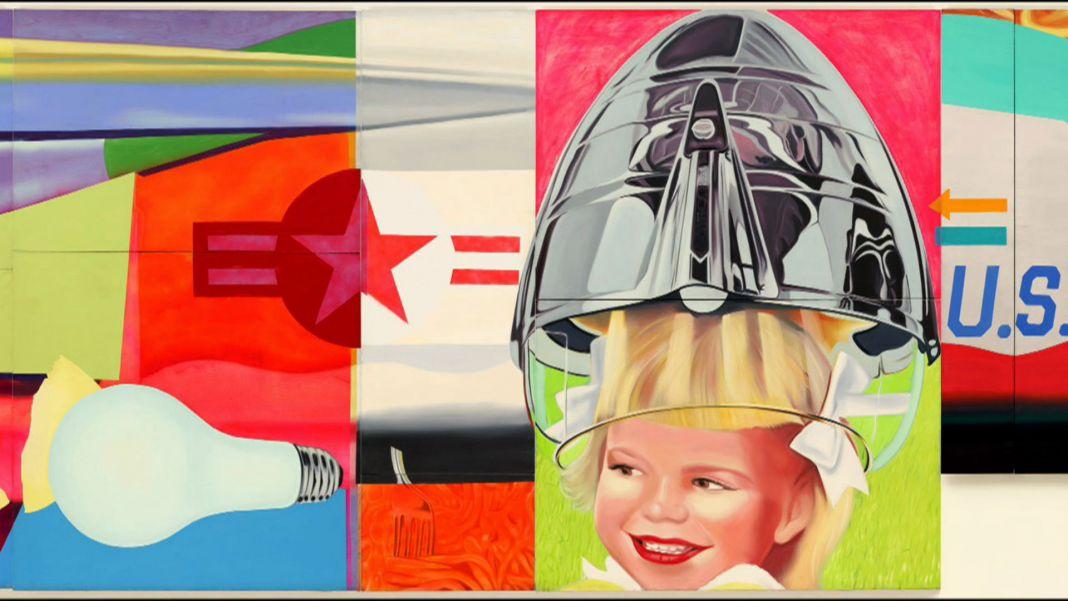 James Rosenquist, F-111, 1964-65, dettaglio