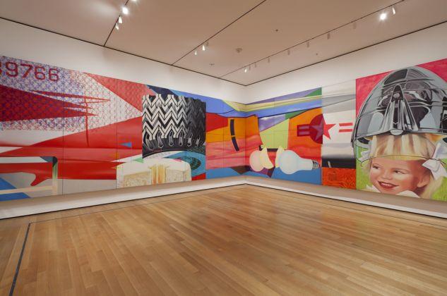 James Rosenquist, F-111, 1964-65. MoMA, New York