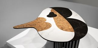 Jaime Hayon, Bird Table. Produzione Caesarstone. Photo Vicky Lam