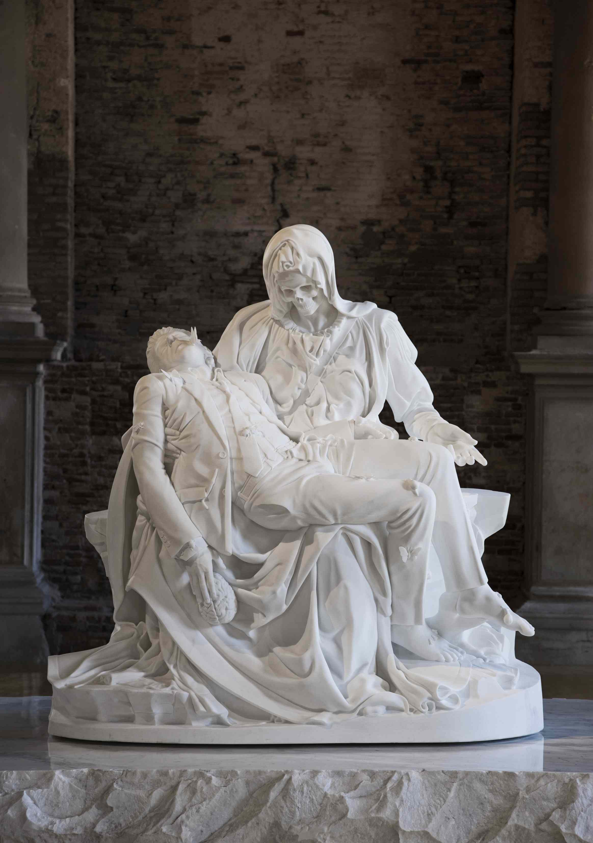 Jan Fabre, Merciful dream (Pietà V), 2011