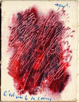 Jean Fautrier, Sei di cuori. Collezione Paola Masino