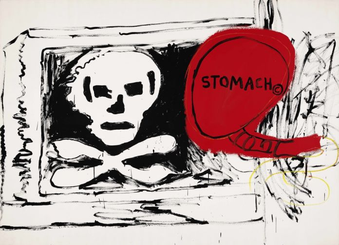 Jean-Michel Basquiat & Andy Warhol, Untitled, 1984-85. Mugrabi Collection