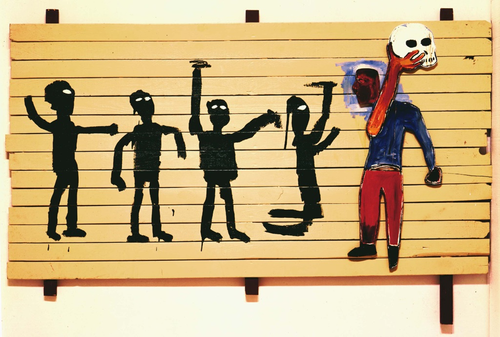 Jean-Michel Basquiat, Untitled (Ober), 1986. Mugrabi Collection