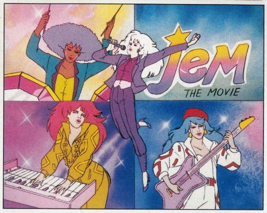 Jem, 1987, Panini, Modena; dall'album per la raccolta di 240 figurine