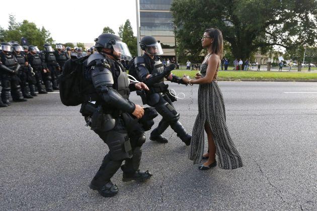 Jonathan Bachman, Taking A Stand In Baton Rouge © Jonathan Bachman, Reuters