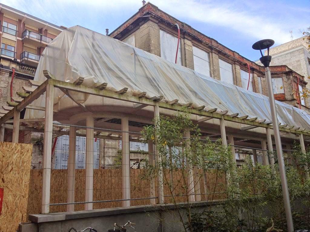 La Casa degli Artisti di Milano, in stato d'abbandono. Foto Jasper90