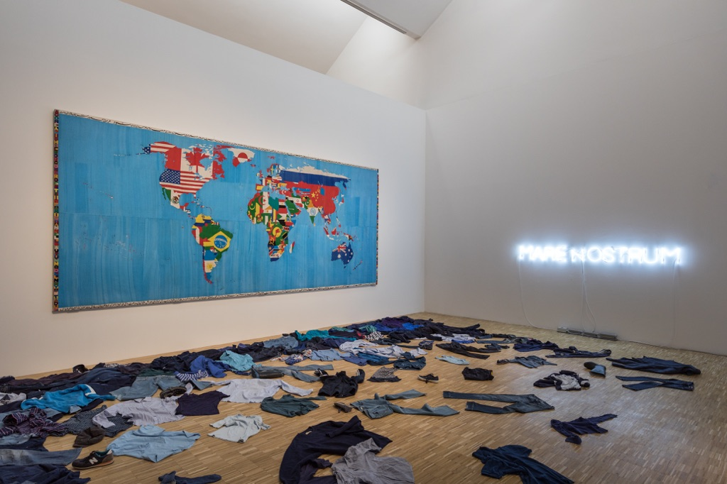 La Terra Inquieta. Exhibition view at La Triennale di Milano, 2017. Photo © Gianluca Di Ioia