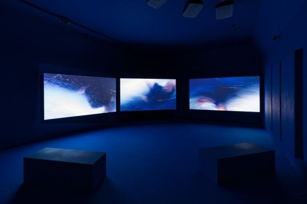 La Terra Inquieta. Exhibition view at La Triennale di Milano, 2017. Photo © Gianluca Di Ioia