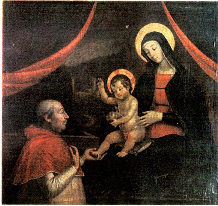 La copia antica del Bambin Gesù delle mani di Pinturicchio ad opera di Pietro Facchetti