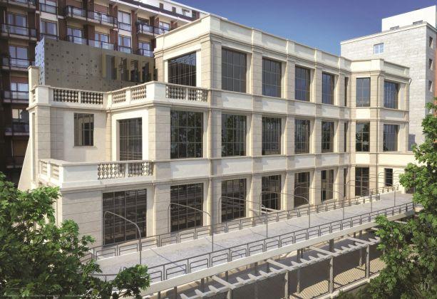 La nuova Casa degli Artisti di Milano, randering