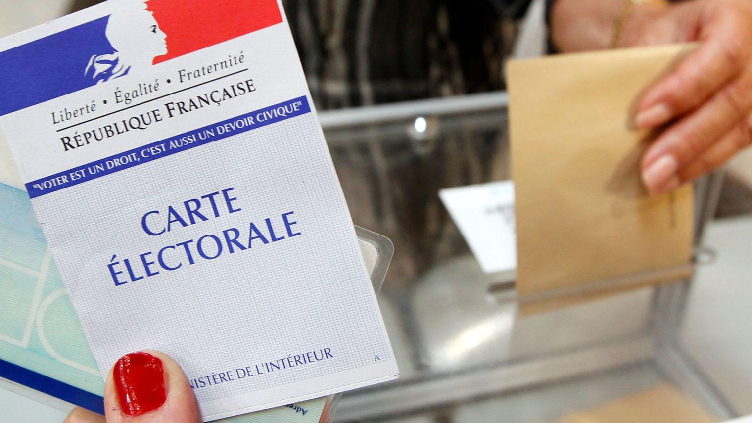 La scheda elettorale francese