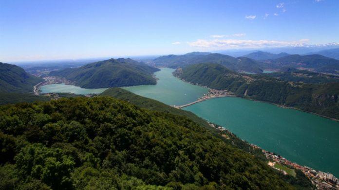 La vista dal Monte San Giorgio