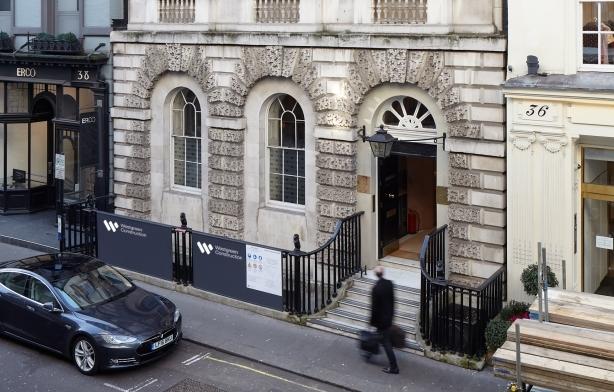 L'ingresso di Thaddaeus Ropac Londra
