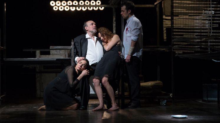 Lisa Ferlazzo Natoli, Lear di Edward Bond. Photo Sveva Bellucci
