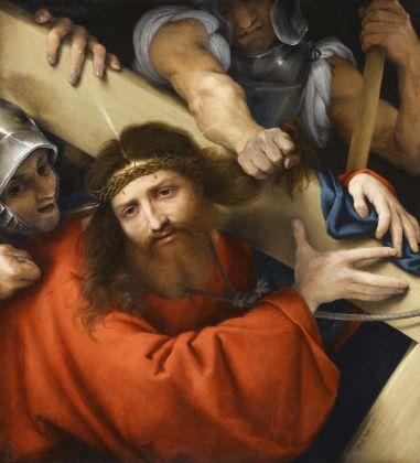 Lorenzo Lotto, Cristo portacroce, 1526. Olio su tela, cm 66 x 60. Parigi, Musée du Louvre