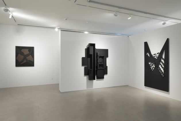 Louise Nevelson, Assemblages and Collages 1960–1980 at Cortesi Gallery, Lugano, 2017. Ph. M Studio