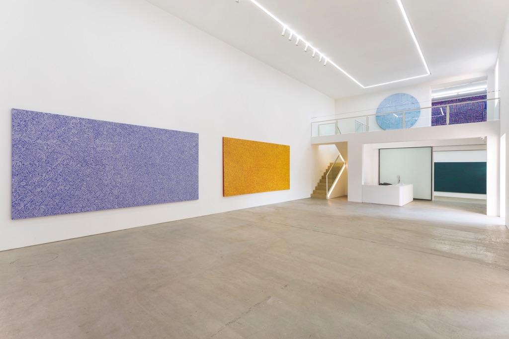 Lu Xinjian. Exhibition view at De Sarthe Gallery, Beijing 2017