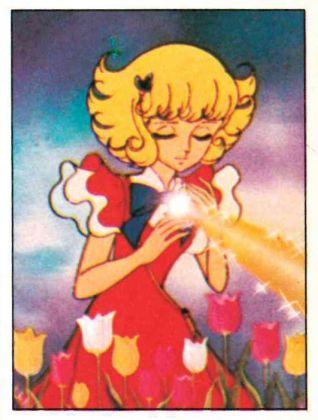 Lulù l'angelo tra i fiori, 1981, Panini, Modena; dall'album per la raccolta di 240 figurine