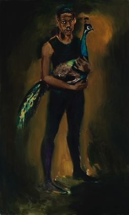 Lynette Yiadom-Boakye, Pander To A Prodigy, 2016. Courtesy the artist & Corvi-Mora, Londra & Jack Shainman Gallery, New York