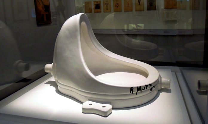 Marcel Duchamp, Fountain, 1964