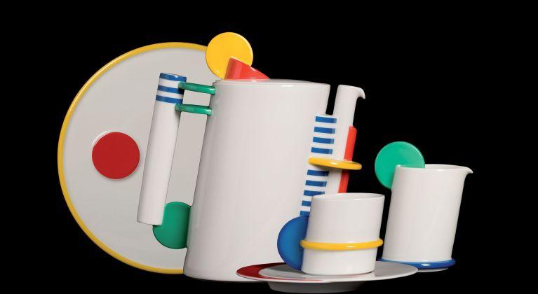Marcello Morandini, Servizio da caffè, Circolo Color, Rosenthal, Selb, Germania, 1985