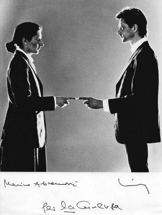 Marina Abramović e Ulay, Relazione nel tempo, 1977