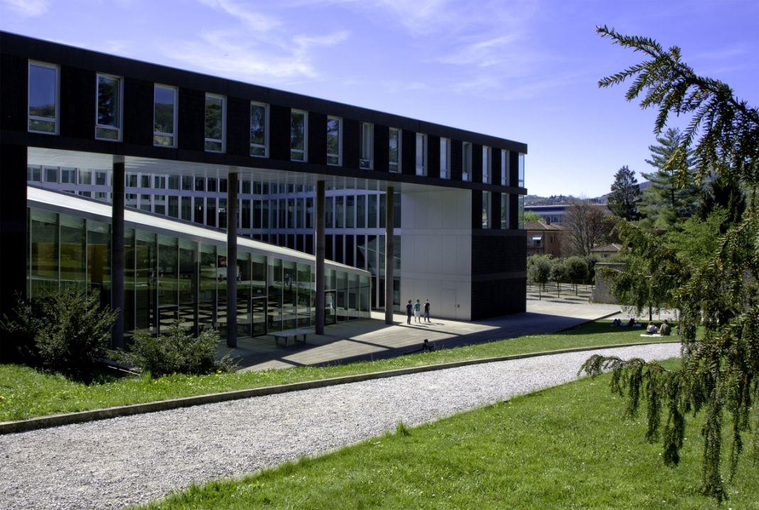Mario Botta, Accademia di architettura, Mendrisio. Photo Alberto Canepa