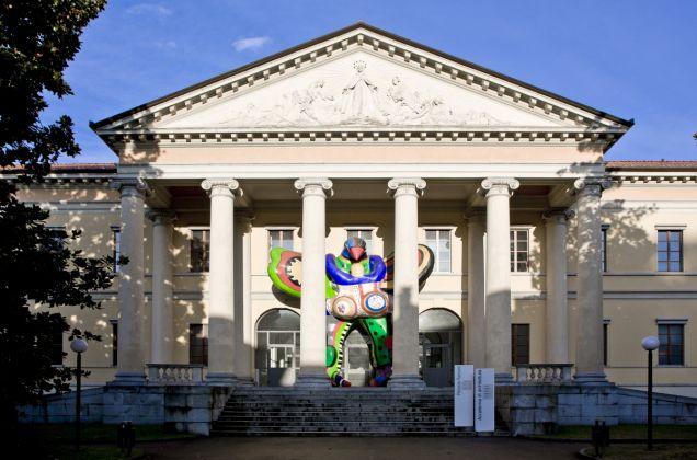 Mario Botta, Accademia di architettura. Palazzo Turconi, Mendrisio. Photo Alberto Canepa
