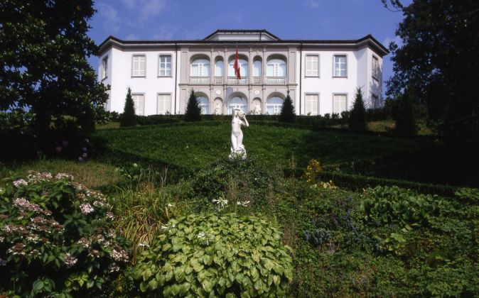 Mario Botta, Ristrutturazione del Museo Vela, Ligornetto, 1995-2001. Photo Enrico Cano
