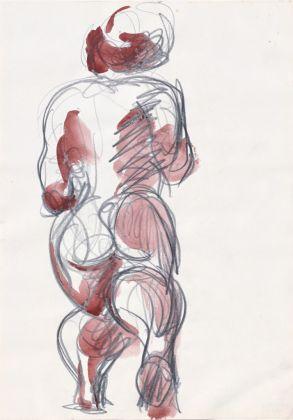 Markus Lüpertz, Onhe Titel, 2000. Galerie Michael Werner, Märkisch Wilmersdorf, Colonia-New York. © Adagp, Paris 2017