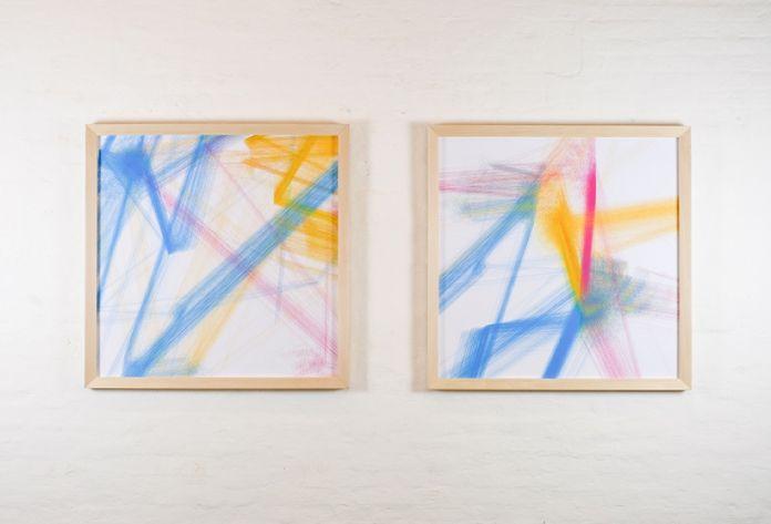 Martino Genchi, Drawings. Installation view at Galleria Michela Rizzo, Venezia 2017