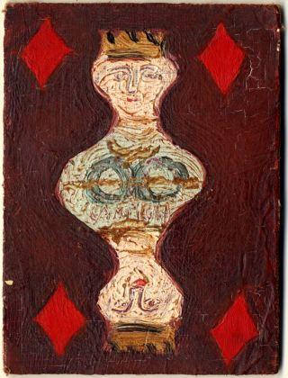 Massimo Campigli, Regina di quadri. Collezione Paola Masino