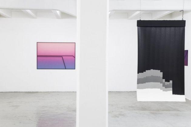 Matter Matters. Exhibition view at The Flat-Massimo Carasi, Milano 2017