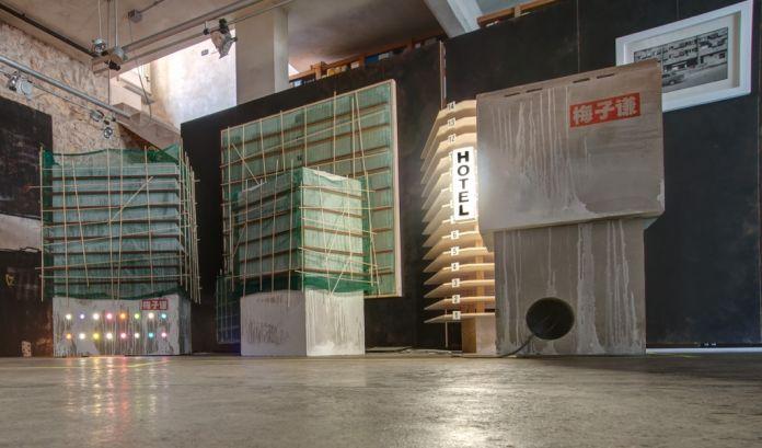 Mei Ziqian. Block Party. Exhibition view at Studio di Architettura LIXI, Cagliari 2017