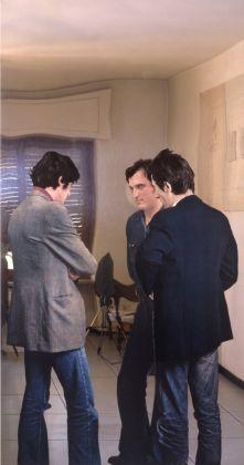 Michelangelo Pistoletto, Sacra conversazione, 1972. MASI, Lugano. Deposito da Collezione privata. Photo MASI, Lugano
