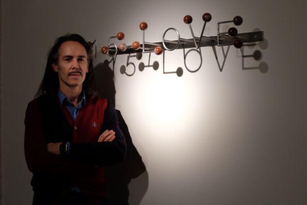 Michele Chiossi. 15-LOVE. Exhibition view at Galleria Paola Verrengia, Salerno 2017. Photo Serena Sammarco