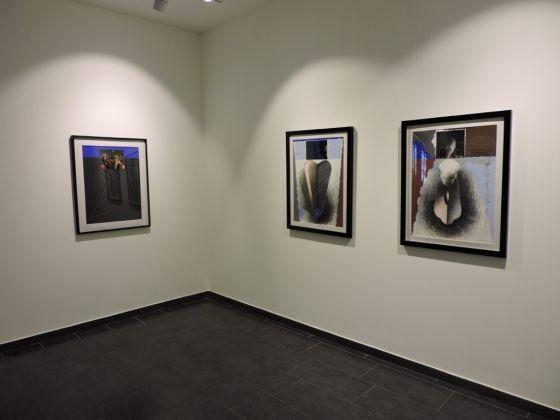Michele Zaza. Opere scelte. Exhibition view at Studio d'arte Cannaviello, Milano 2017