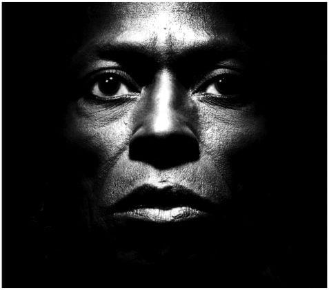 Miles Davis by Irving Penn, 1986