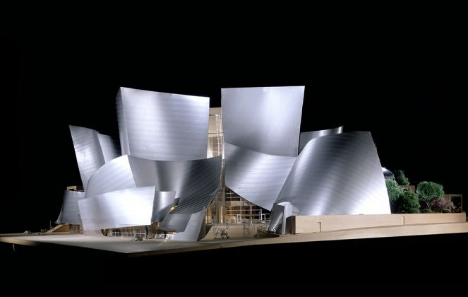Model of Walt Disney Concert Hall, Los Angeles, California, Frank Gehry, 2003. Frank Gehry Papers. The Getty Research Institute. © Frank O. Gehry