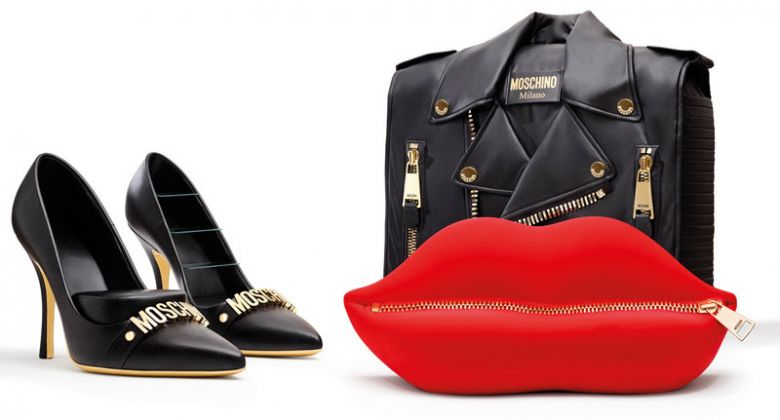 Moschino kisses Gufram, photo Leonardo Scotti