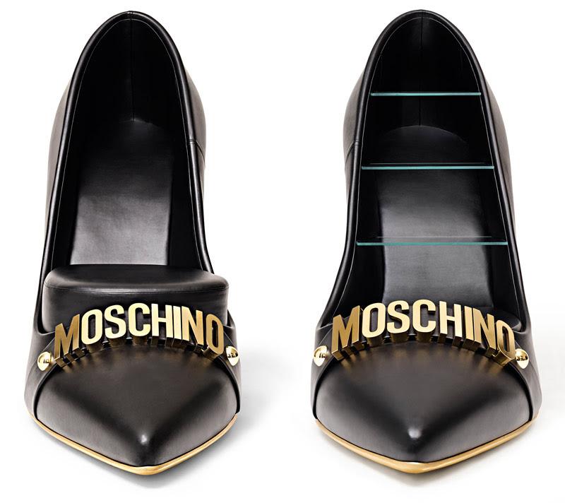 Moschino per Gufram, High Heels, photo Leonardo Scotti