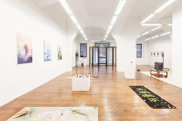 POIUYT. Exhibition view at MLZ Art Dep, Trieste 2017