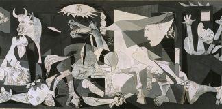 Pablo Picasso, Guernica, 1937. Museo Nacional Centro de Arte Reina Sofía (c) Sucesión Pablo Picasso, VEGAP, 2017