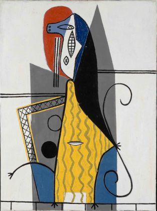 Pablo Picasso, Mujer en un sillón, 1927. Musée Picasso, Parigi (c) Sucesión Picasso, VEGAP, 2017