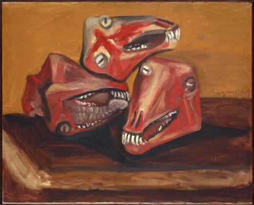 Pablo Picasso, Tres cabezas de cordero, 1939. Museo Nacional Centro de Arte Reina Sofía (c) Sucesión Picasso, VEGAP, 2017