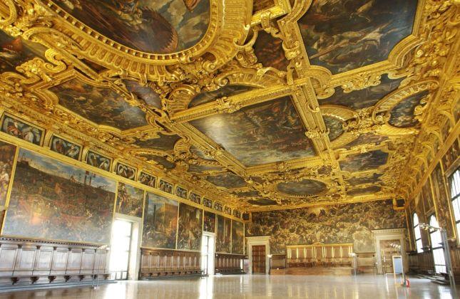 Palazzo Ducale, Sala del Maggior Consiglio, Venezia, courtesy Fondazione Musei Civici di Venezia